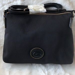 Dooney & Bourke Black Crossbody Pouchette